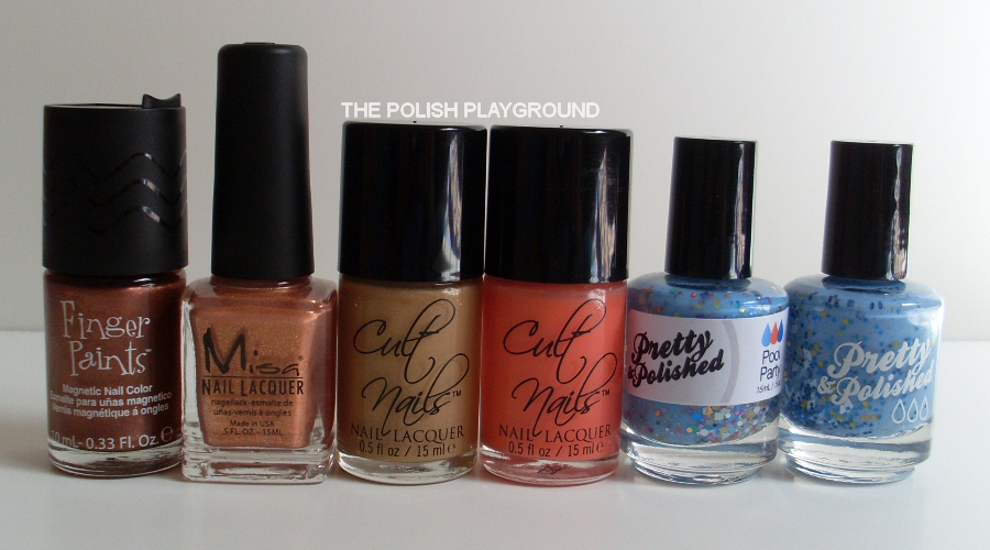 Finger Paints, Misa, Cult Nails, Pretty and Polished