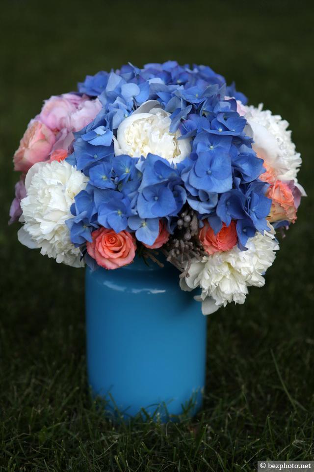 букет невесты в стиле шебби шик