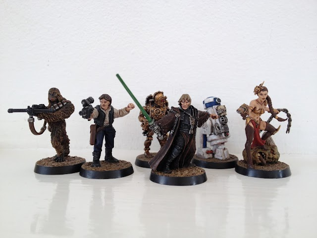 What's On Your Table: Stars Wars Themed Inquisitor Retinue