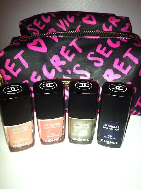 Esmaltes Chanel