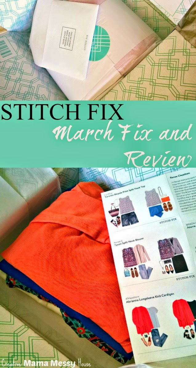 March Stitch Fix Review - I'm in love with these Spring styles