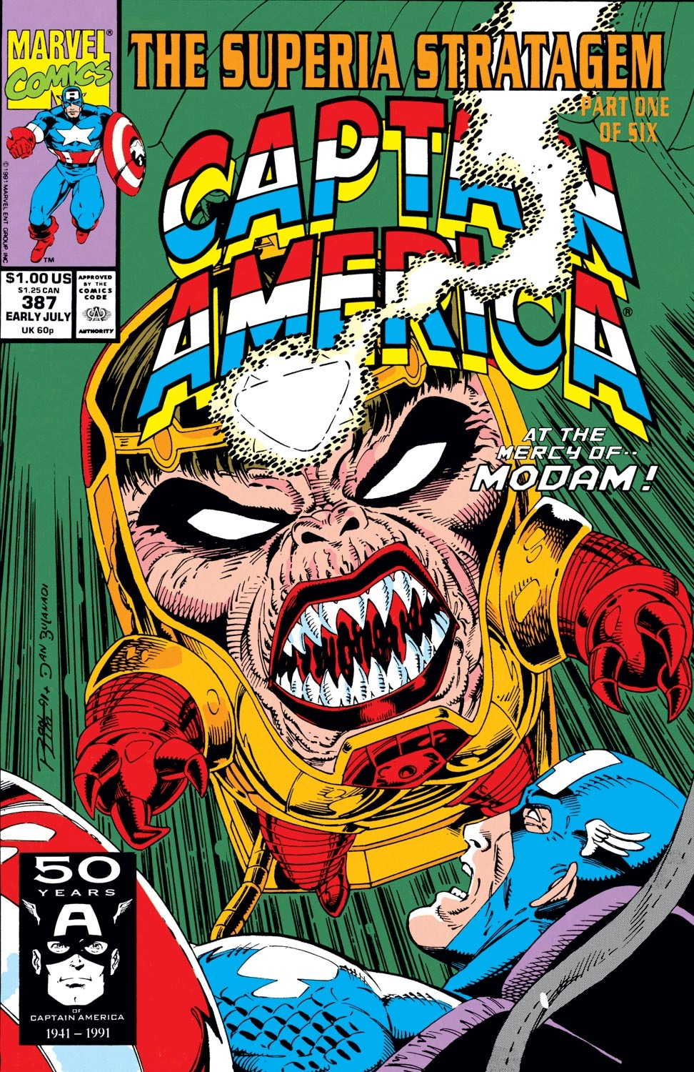 Captain America (1968) Issue #387 #320 - English 1