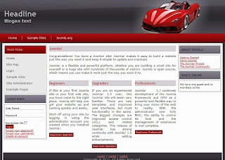 professional joomla car dealer template