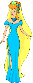 Beauty Queen Standing Free Clipart