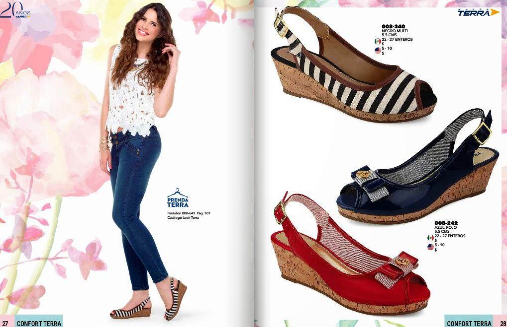 Catalogo confort terra calzado primavera verano 2017 for Catalogos terra