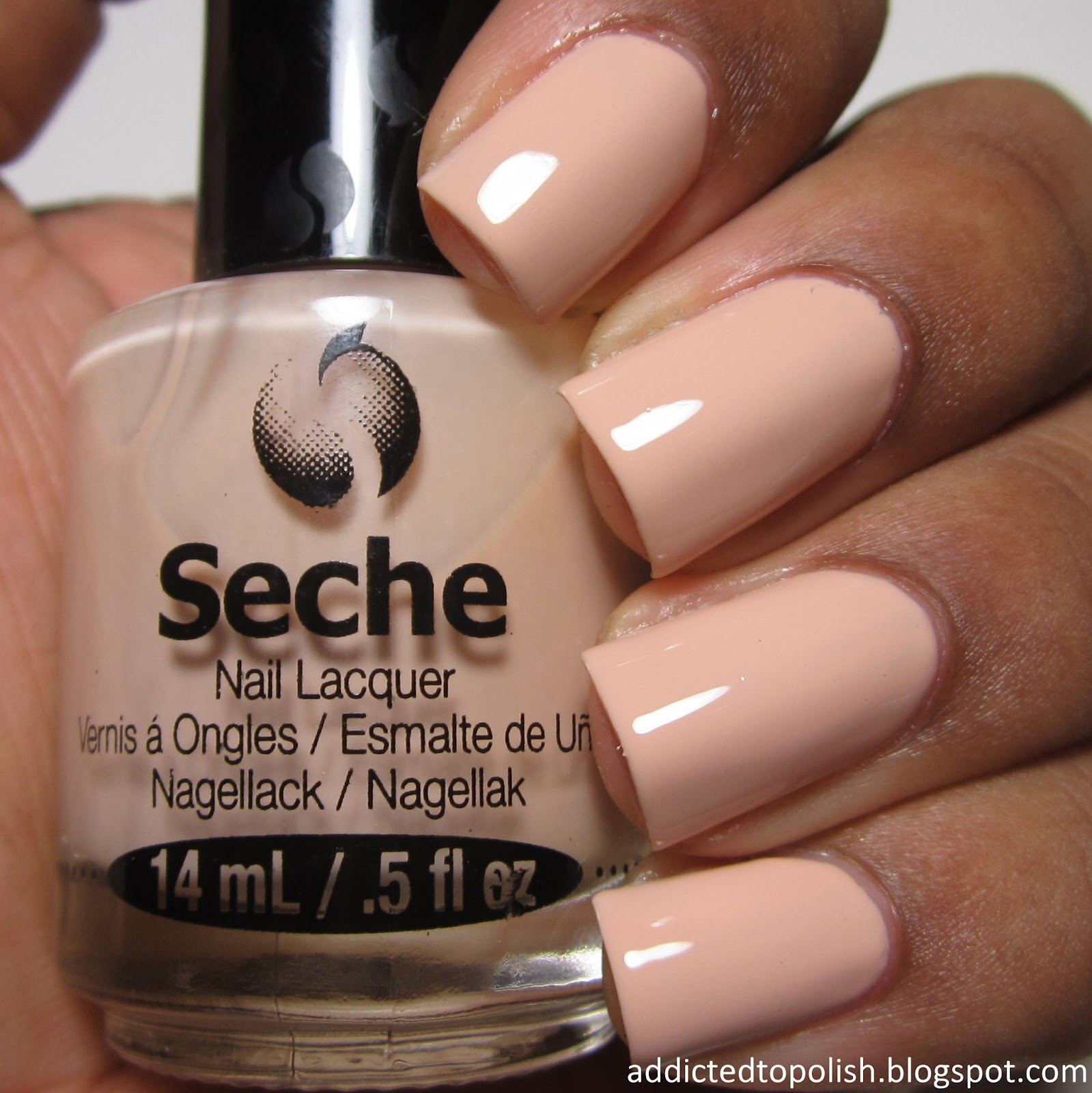 Seche Simplicity Nude Brown Skin Love Live Polish