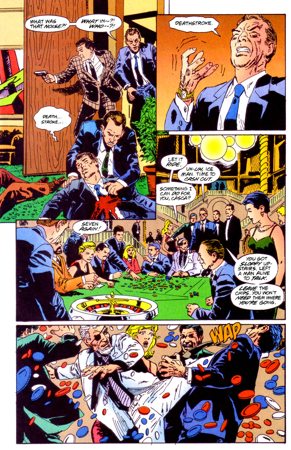 Deathstroke (1991) Issue #40 #45 - English 12