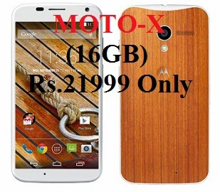Flat Rs.4000 Off on MOTO-X (16GB)  for Rs.21999 Only (Hurry!! Limited Period Offer)