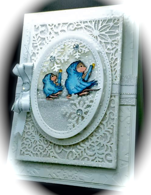 House-Mouse & Friends Monday Challenge: ALL WHITE, for House-Mouse on house mouse christmas, house mouse design time, house cleaning services business cards,