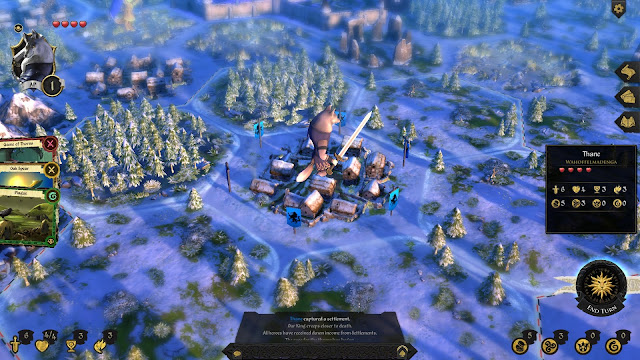 Armello Review winter wolf