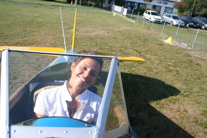 Aurélie met en route le moteur