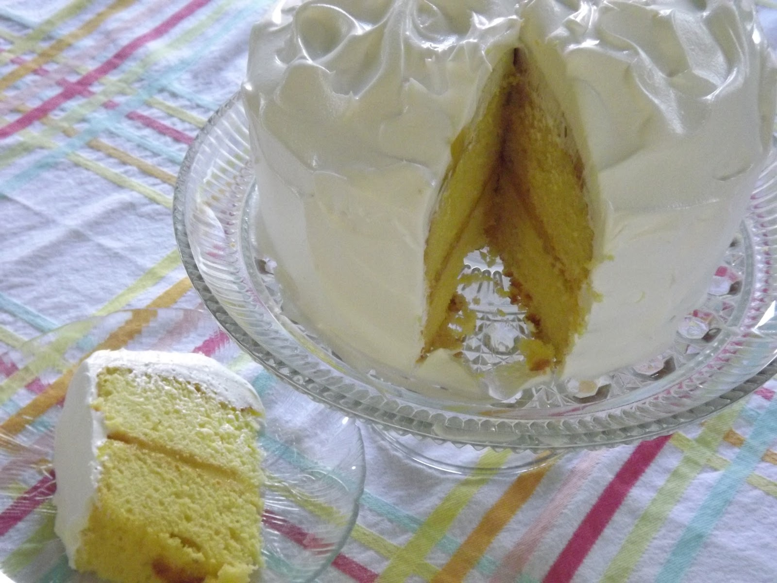 Served Up With Love: Easy Lemon Cake