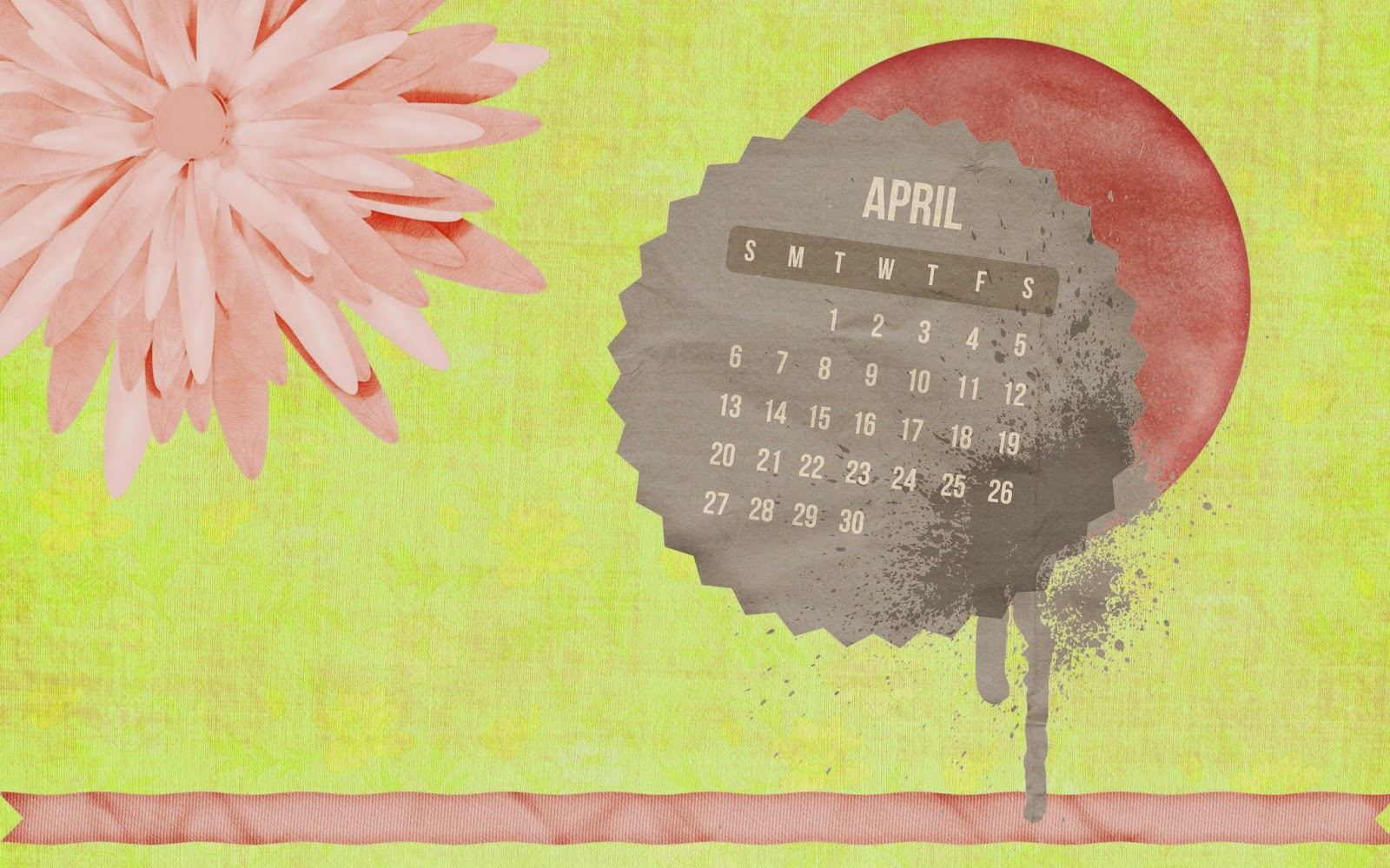 related april 2014 calendar april 2014 calendar background april ...