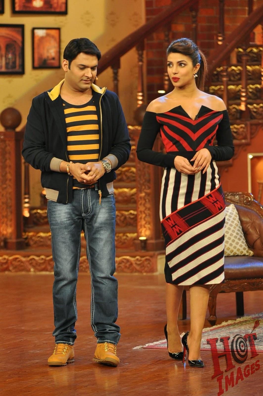 Priyanka Chopra At Comedy Nights