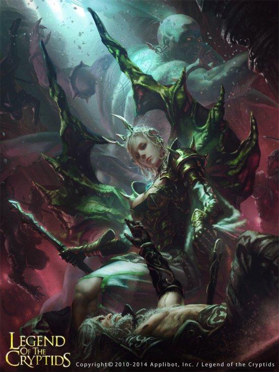 Choi Yongjae indusconcept deviantart ilustrações fantasia card games