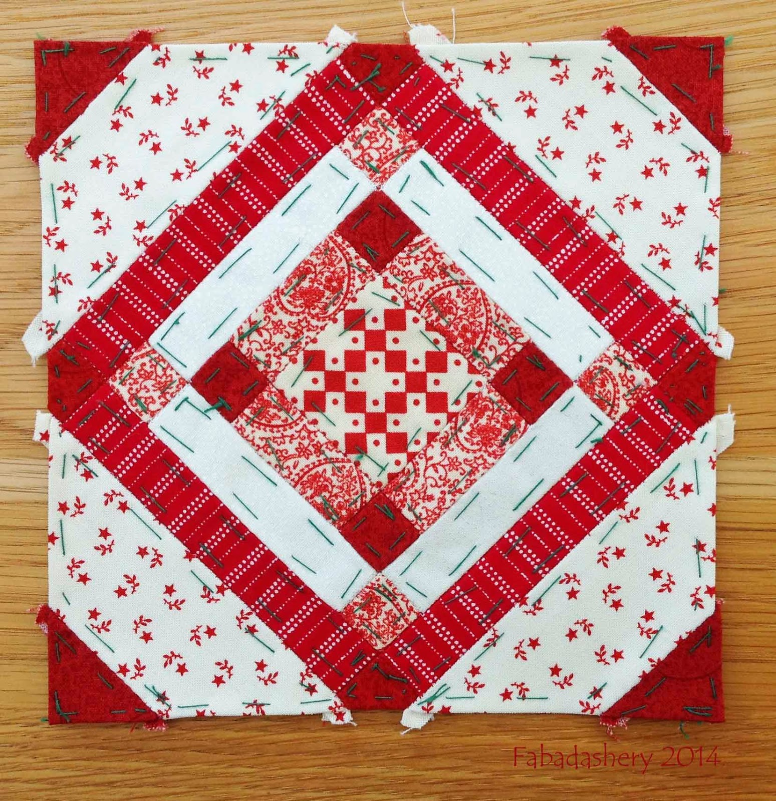 Block 26 - Nearly Insane Quilt