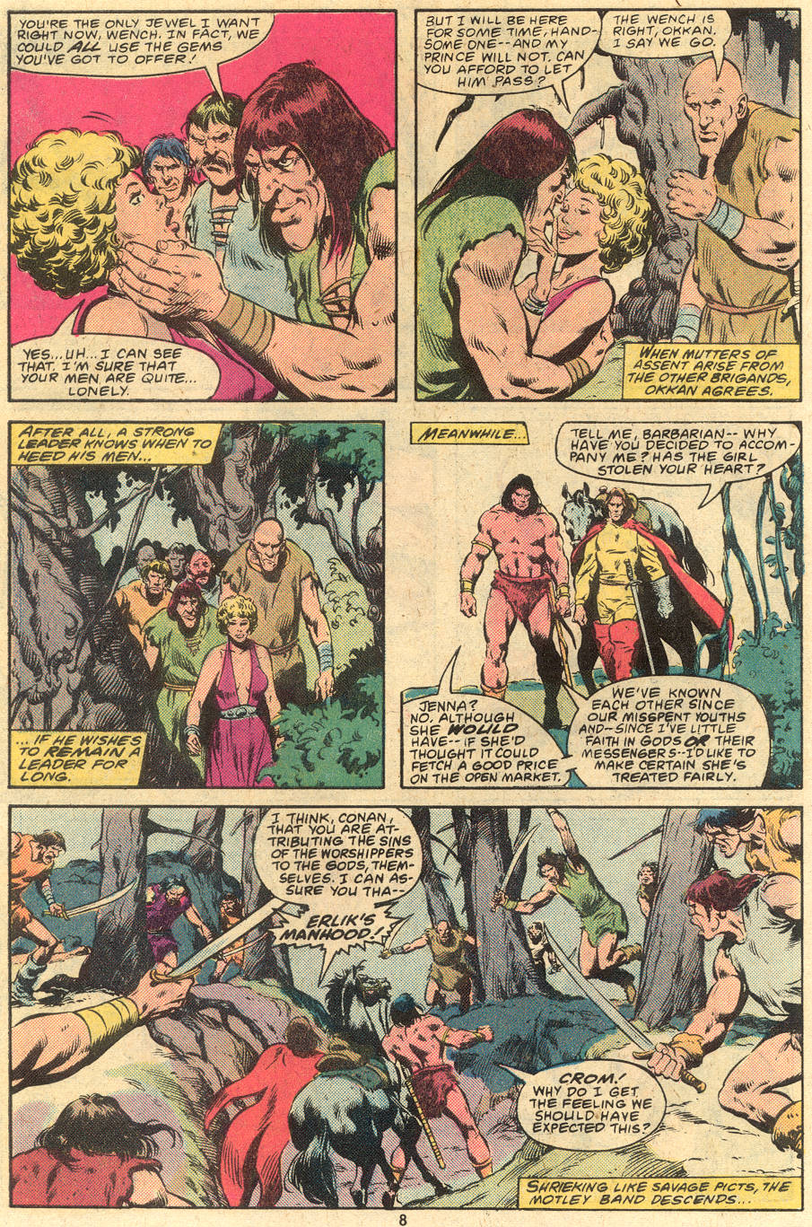 Conan the Barbarian (1970) Issue #120 #132 - English 8