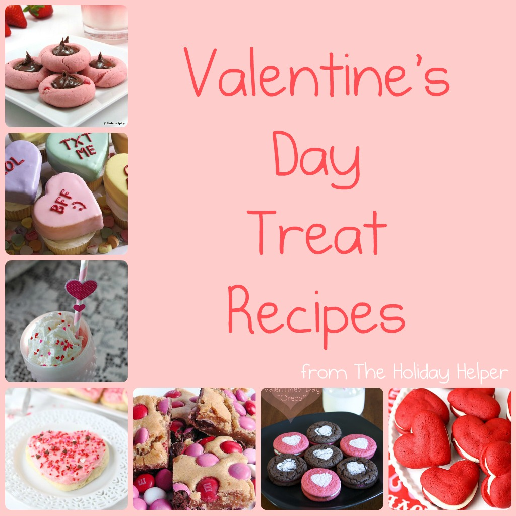 valentine 39 s day treat recipes the holiday helper