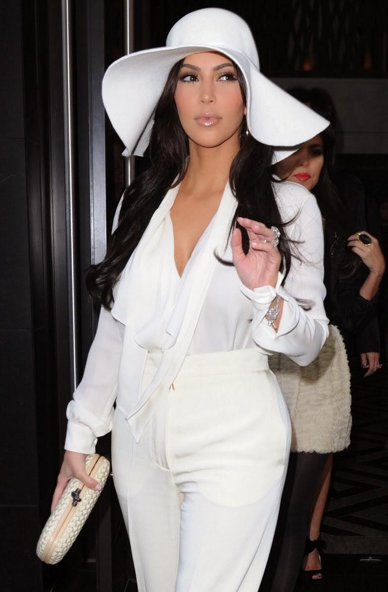 Kim Kardashian styling