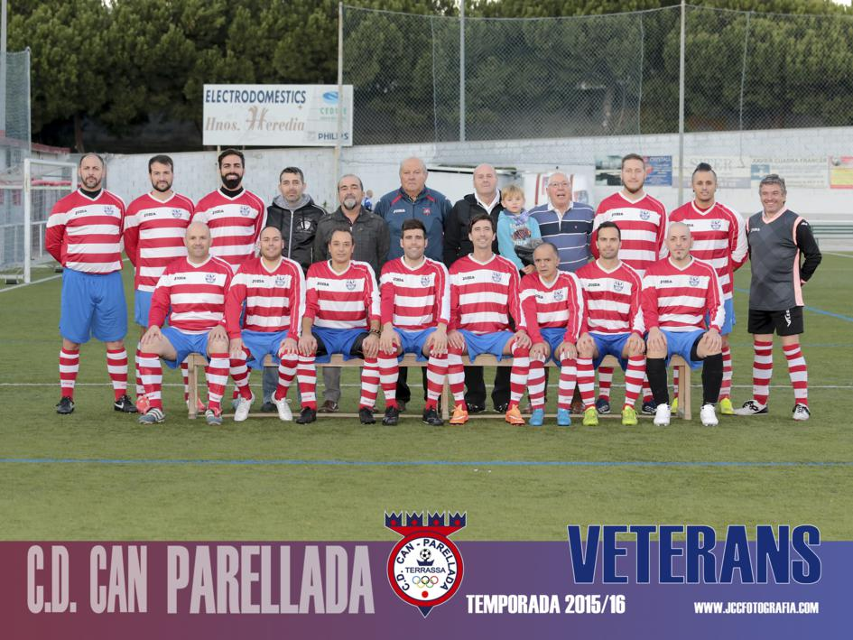 VETERANOS C.D.CAN PARELLADA TEMPORADA 2015-16