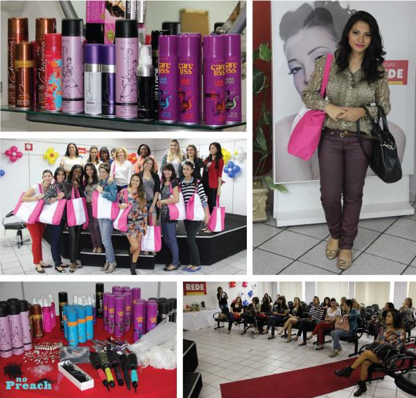 evento lojas rede e cless cosmeticos