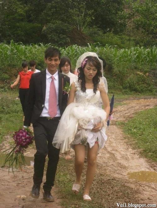 Hình ảnh đám cưới hài hước vô đối