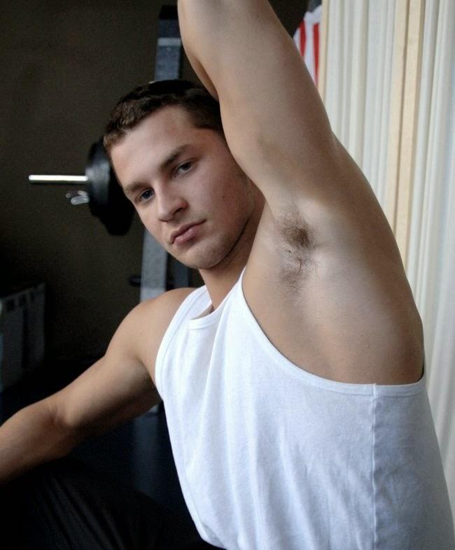 Jock Pits Muscular Man
