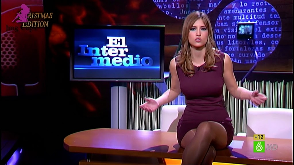 SANDRA SABATES, EL INTERMEDIO CHRISTMAS EDITION (06.01.15)