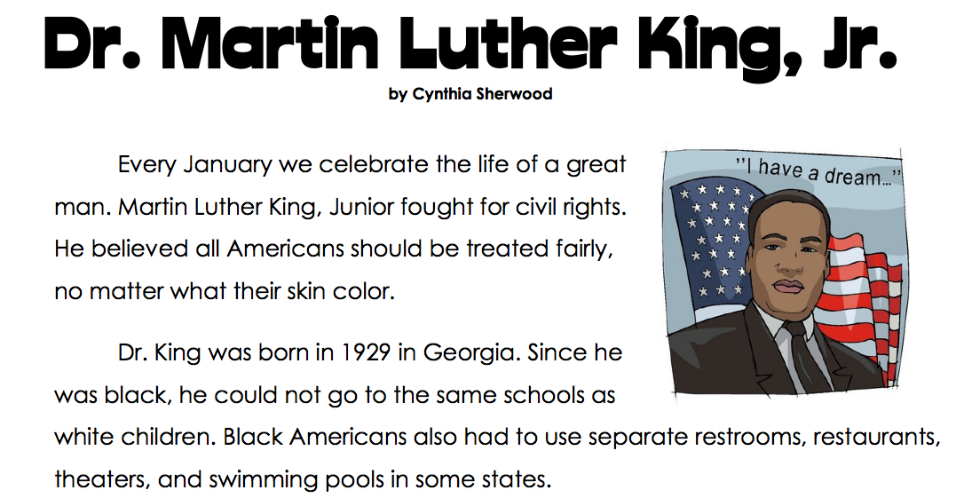 second grade essays on martin luther king jr Martin luther king jr book cover , writing, martin luther king jr, main idea, 2nd grade, biography students is to create a 5 paragraph essay.