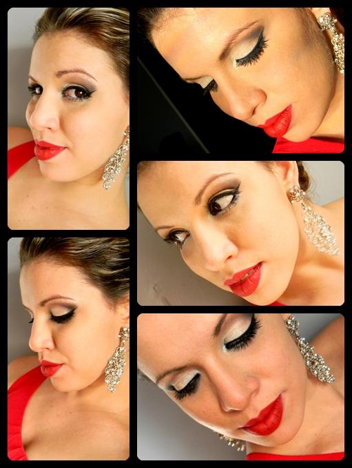 makeup de natal