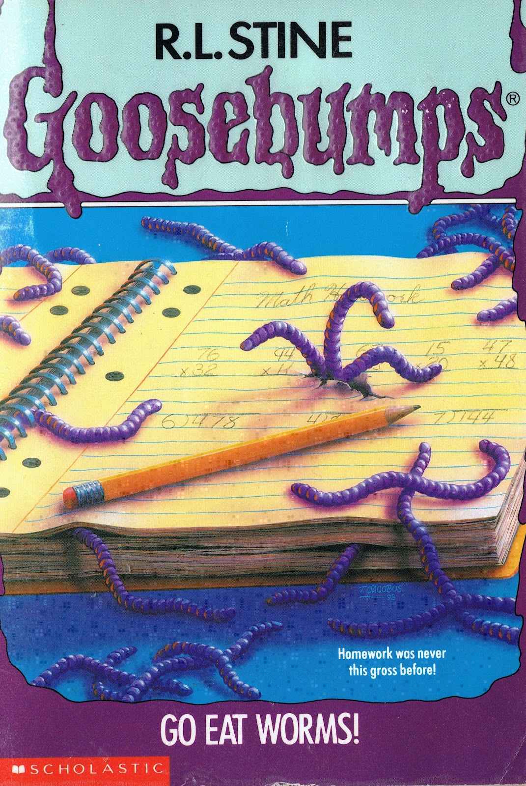 an analysis of goosebumps go eat Rent movies and tv shows on dvd and blu-ray 1-month free trial fast, free delivery no late fees.