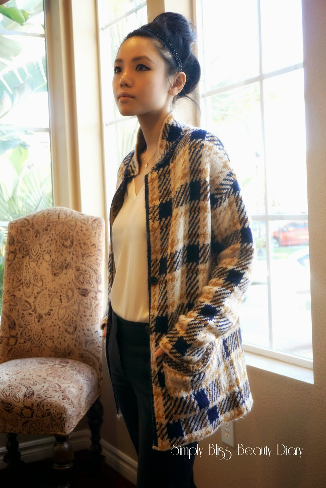 zara checked jacket for petites