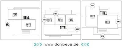 #dpSketchFreitag  3 Layout Sketche von www.danipeuss.de