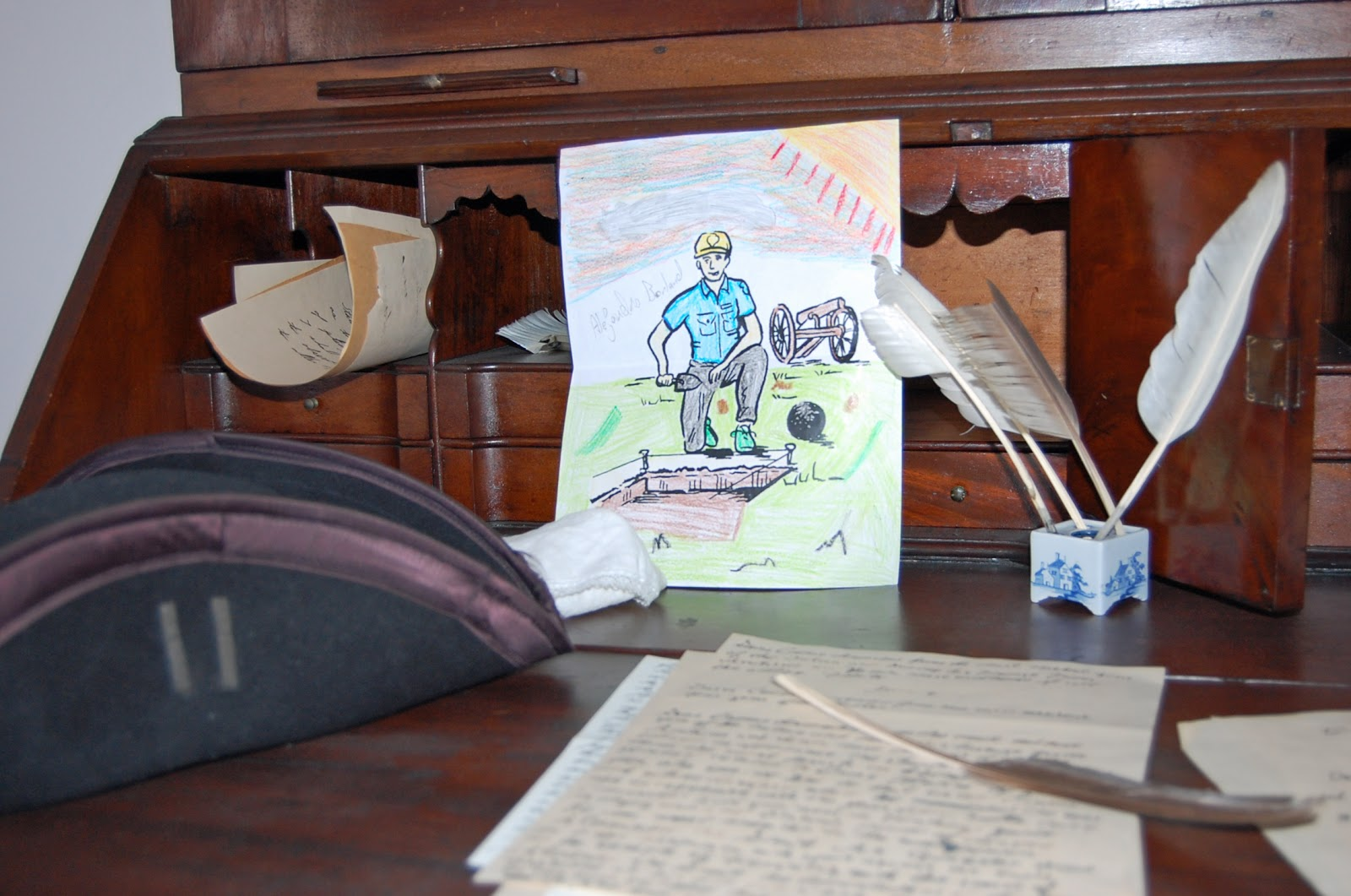 Flat Ranger Borland spent some time in the Ford Mansion arranging and  #633A2F