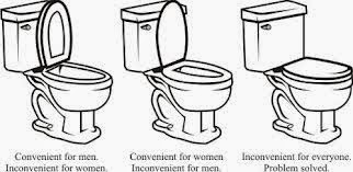 Toilet Seat Up Or Down.Multimediamom Com Toilet Seat Problem Solved