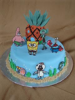 Cheap Spongebob Squarepants Birthday Cakes