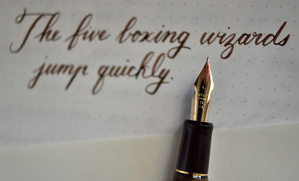 Custermer writing
