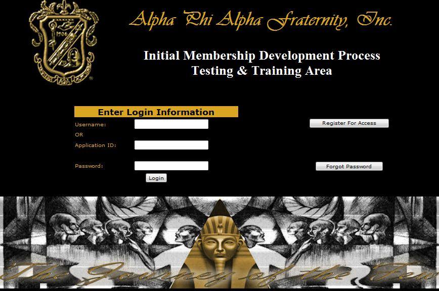 NEW -- Membership Development Process