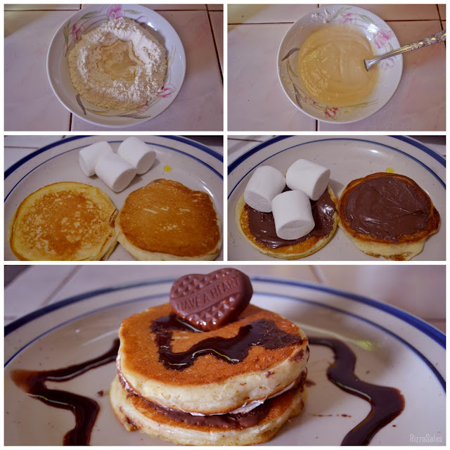 S'mores Pancakes by Rizza Salas