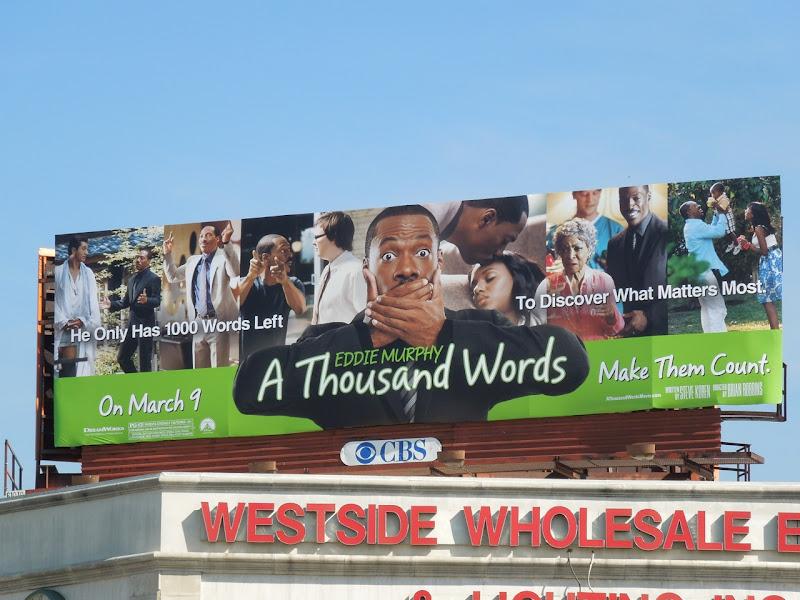 eddie Murphy A Thousand Words billboard