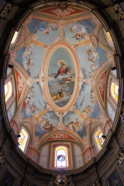 carmelite priory elliptical dome mdina malta