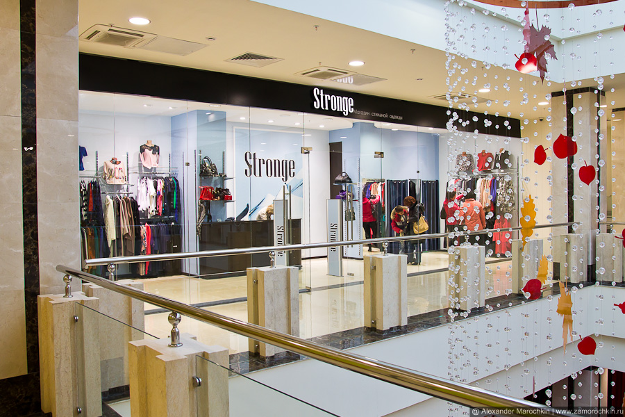 Магазин Stronge в ТРЦ РИО