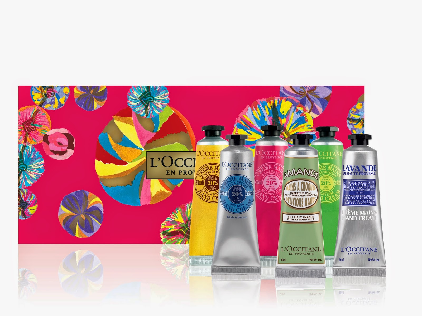 The Beauty Alchemist: L'Occitane Holiday Hand Cream Gifts