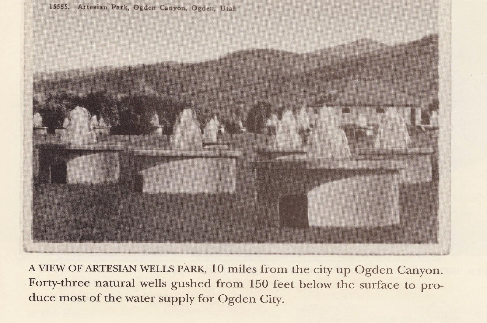 Boyd Artesian Well Ogden's Old Artesian Well Park