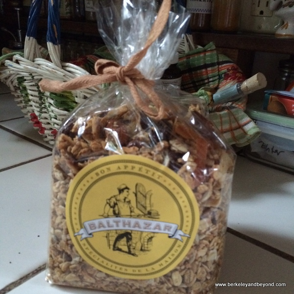 house granola to go at Balthazar in NYC