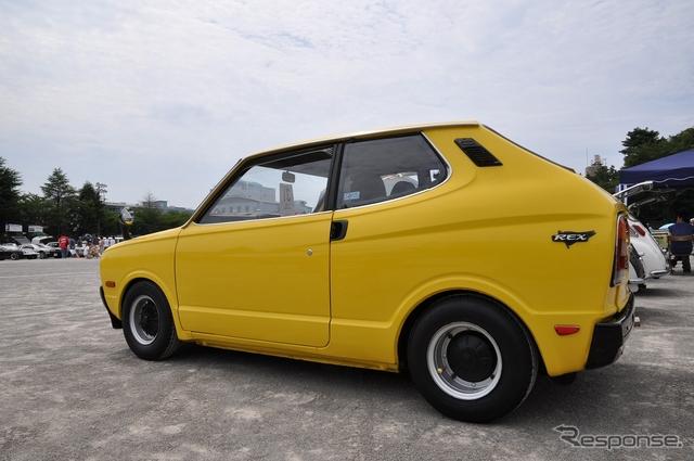 Subaru Rex, kei car, stary japoński samochód, klasyk, oldschool