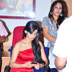 Sonal Chauhan Hot in Red Dress Pics