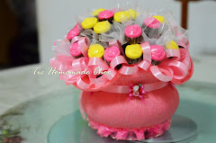 Jambangan lolly rose