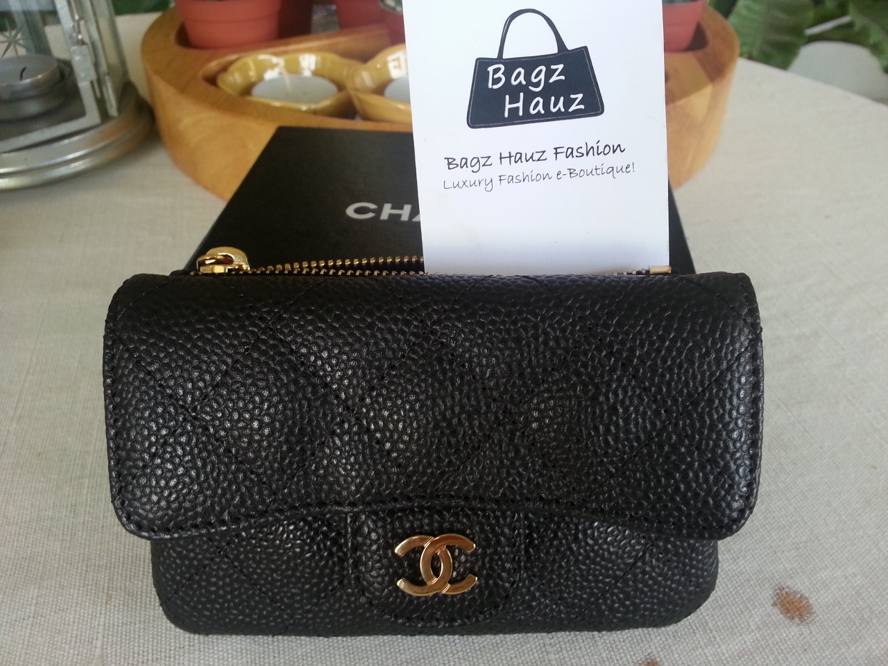Awesome Chanel Business Card Holder Pictures Inspiration ...