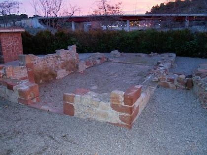 Les restes de la capella de Sant Bartmeu